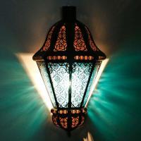 Orient Wandlampe Beluti Blau