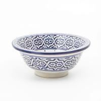 Orientalisches-Handbemaltes-Keramik-Waschbecken Fes71