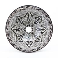 Orientalisches-Handbemaltes-Keramik-Waschbecken Fes76