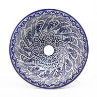 Orientalisches-Handbemaltes-Keramik-Waschbecken Fes80
