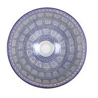 Orientalisches-Handbemaltes-Keramik-Waschbecken Fes91