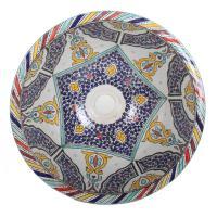 Orientalisches Handbemaltes Keramik Waschbecken Fes102