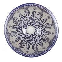 Orientalisches Handbemaltes Keramik Waschbecken Fes105