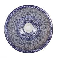 Orientalisches Handbemaltes Keramik Waschbecken Fes106