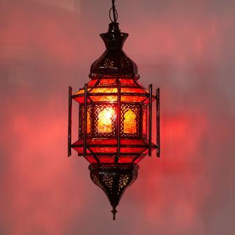 Hängeleuchte Alexandria Rot