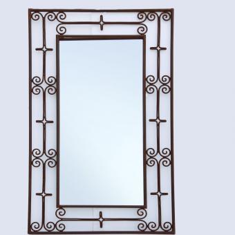 Marokkanischer Eisenspiegel Maher 100x60