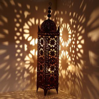 marokkanische Eisen-Laterne Hilal H144