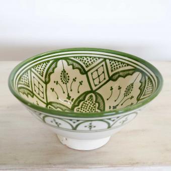 Handbemalte Keramikschüssel KS08
