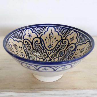 Handbemalte Keramikschüssel KS47