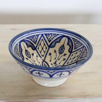 Handbemalte Keramikschüssel KS54