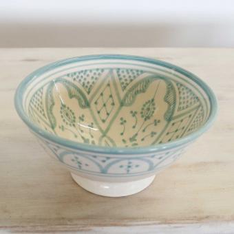 Handbemalte Keramikschüssel KS25