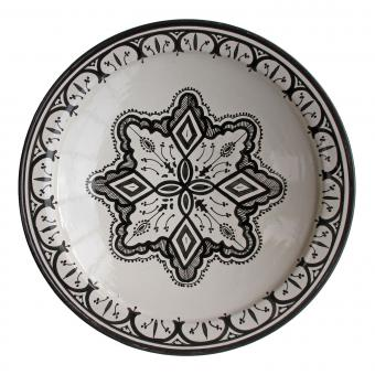 handbemalte Keramikschale aus Marokko F029
