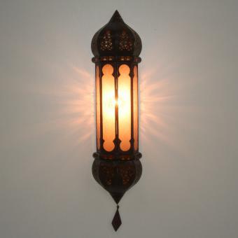 Marokkanische Wandlampe Ruya Amber