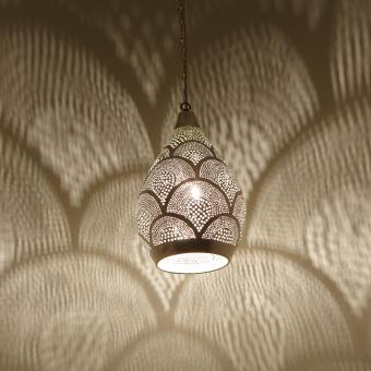 Marokkanische Lampe Naouma Samak D20