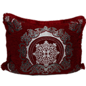 Marokkanisches Sofakissen Sultan rot