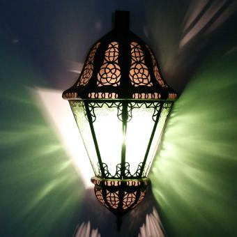 Orient Wandlampe Beluti Grün