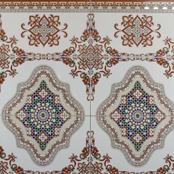 Wand fliesen aus marokko meknes bei ihrem orient shop - Fliesen aus marokko ...