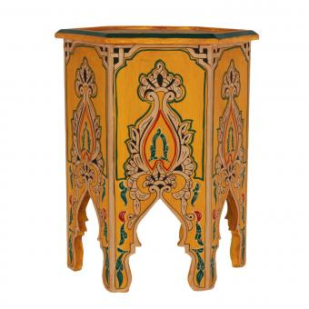 Marokkanischer Holz Beistelltisch Nacer