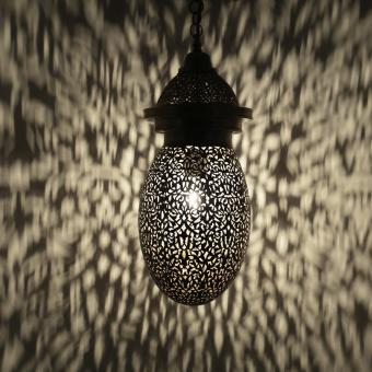 Messinglampe Daja