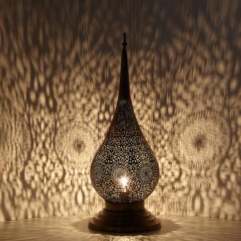 Messinglampe Zakia