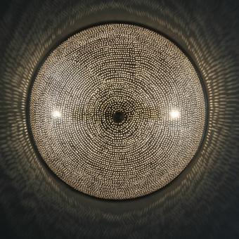 Ägyptische Silber-Wandlampe Sadi D35