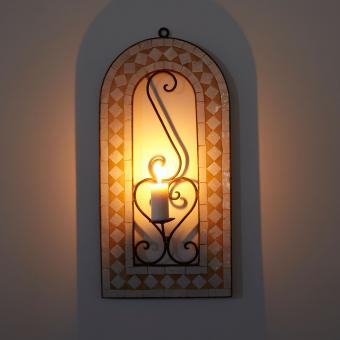 Mosaik - Kerzenleuchter