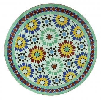 Mosaik Bistrotisch Rund 70 cm