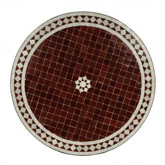 Mosaik Tisch aus Marokko -M60-15