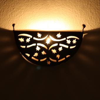 Orientalische Eisen Wandleuchte EWL33