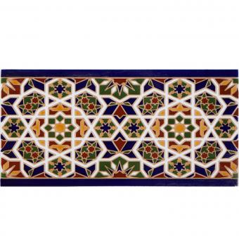 Marokkanische Fliesen-Bordüre Rabab
