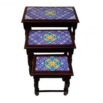Orientalische Beistelltische Safia im 3er Set