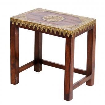 Orientalischer Beistelltisch Priya Gross