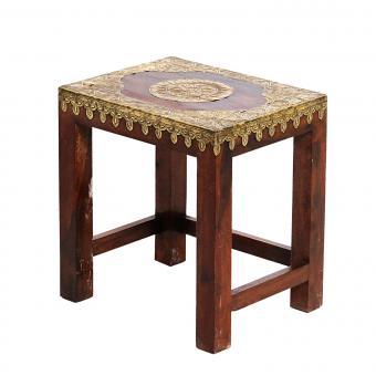 Orientalischer Beistelltisch Priya Mittel