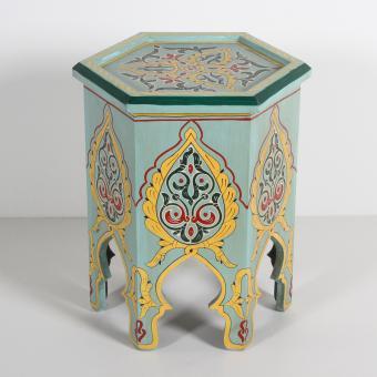 Marokkanischer Holz Beistelltisch Rakia