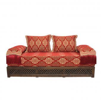 Orientalisches Sofa Salma mit Gestell