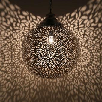 Silberlampe Hasna Gross