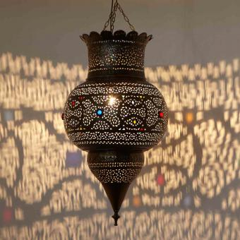 Silberlampe Nida