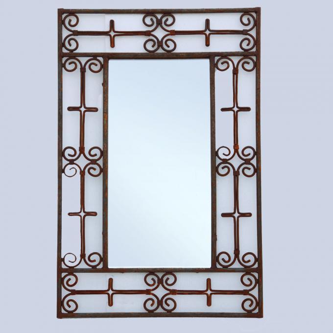 Marokkanischer Eisenspiegel Maher 80x50 cm