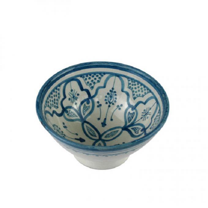Handbemalte Keramikschüssel KS52