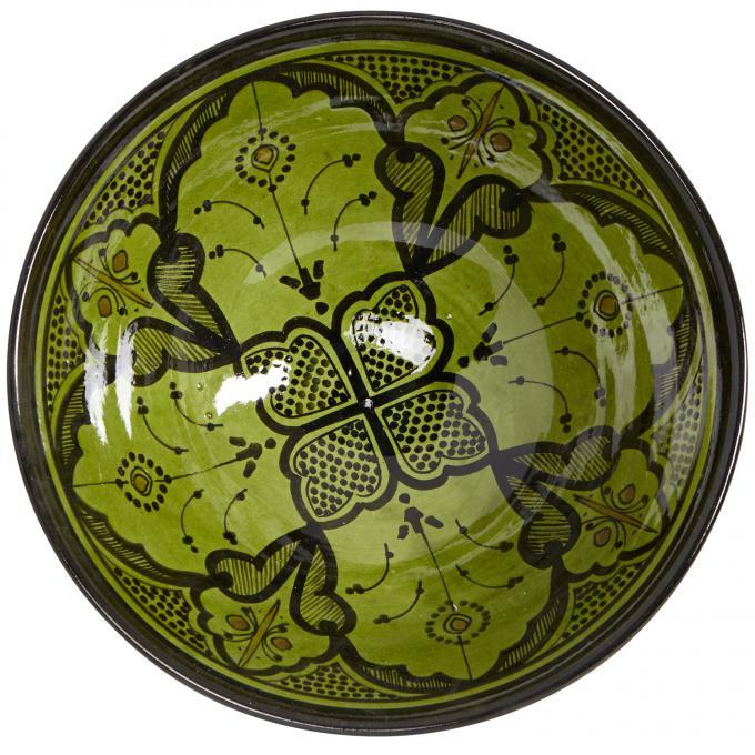 Handbemalte Keramikschüssel KS66