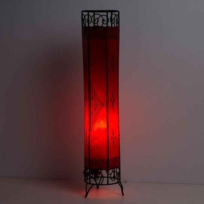 Henna-Stehlampe Kadous H100 Rot