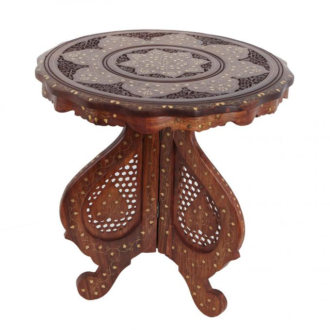 Orientalischer beistelltisch warda bei ihrem orient shop for Indische beistelltische