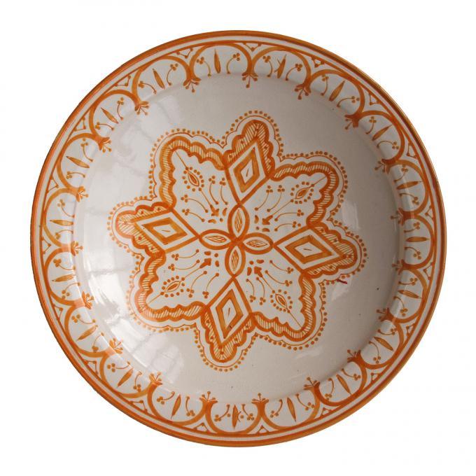 handbemalte Keramikschale aus Marokko F026
