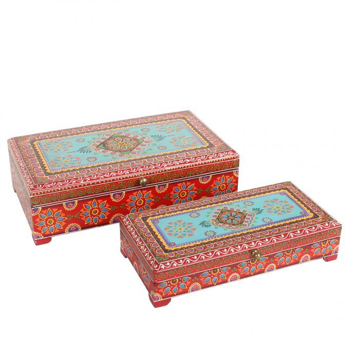 Orientalische Schmucktruhen Padmee im 2er Set