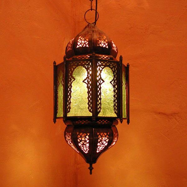 Deckenlampe Haniya Grün