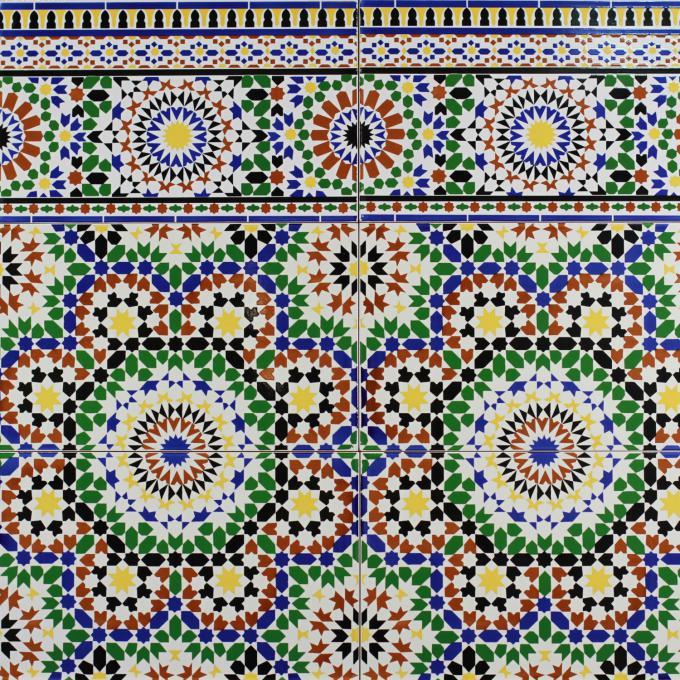 marokkanische fliesen alhamra bei ihrem orient shop casa. Black Bedroom Furniture Sets. Home Design Ideas