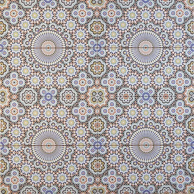 Marokkanische Fliesen Riad