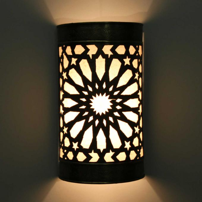 messing wandlampe emina bei ihrem orient shop casa moro. Black Bedroom Furniture Sets. Home Design Ideas
