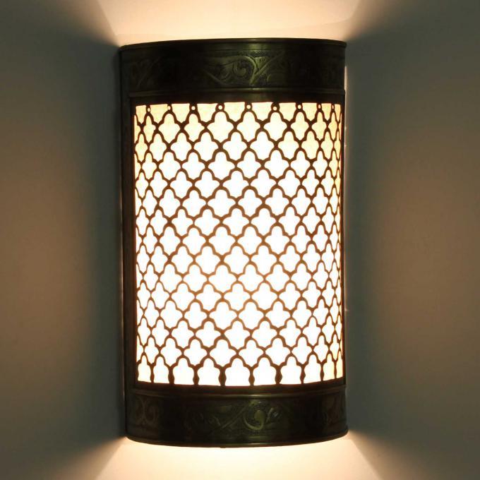 Messing-Wandlampe Hanin