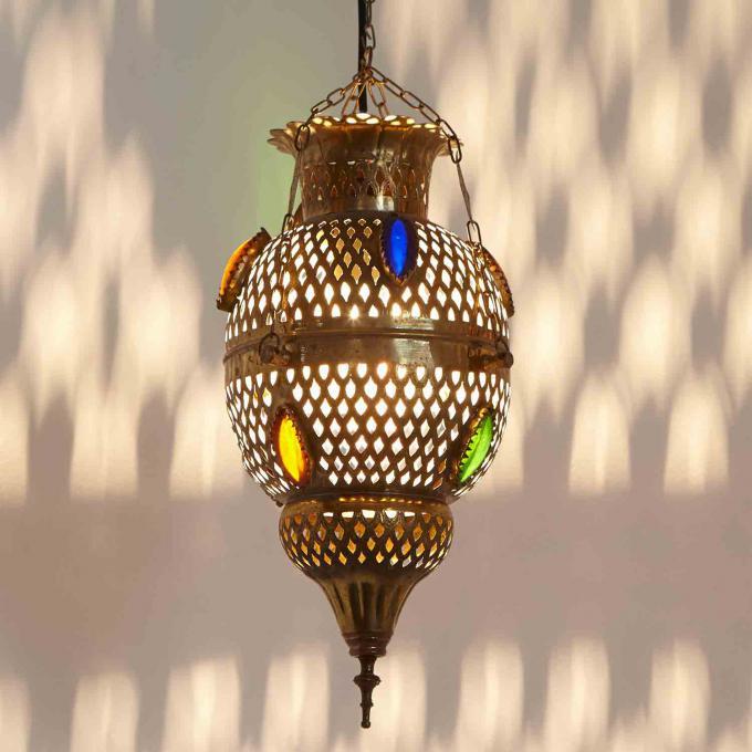 Messinglampe saba bei ihrem orient shop casa moro for Marokkanische messinglampen